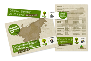 Project Let's clean Slovenia